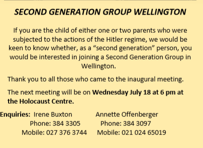 2 generation - Second Generation Group Wellington