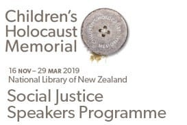Social Justice Speakers Programme running alongside the Children's Holocaust Memorial