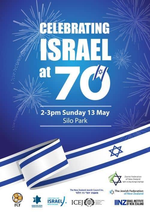 Celebrating Israel at 70 auckland 4 - Celebrating Israel at 70 (13 May)