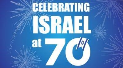 Celebrating Israel at 70 (13 May)