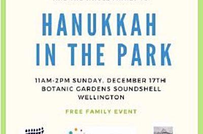 Hanukkah in the Park – Wellington
