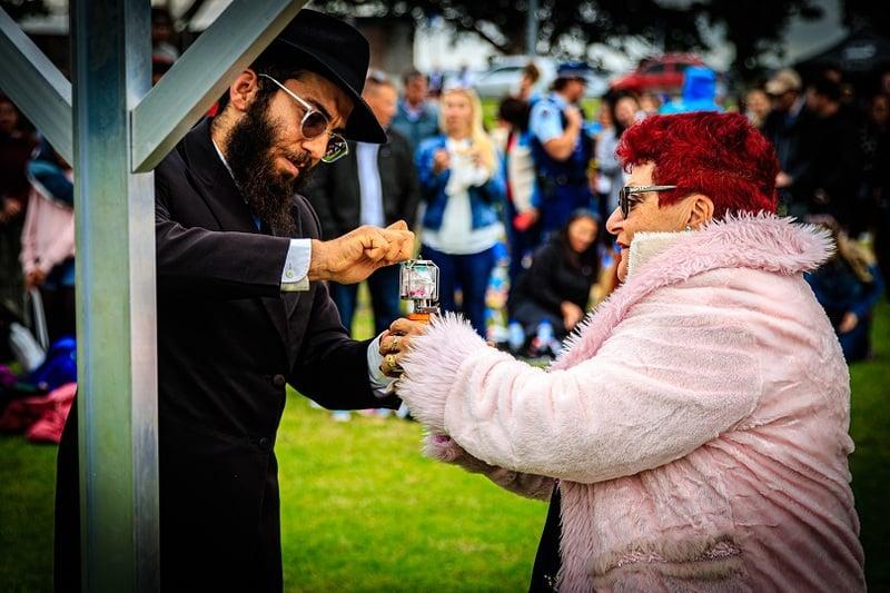 Hanukkah10 - Auckland's Hanukkah in the Bays 2020 in photos
