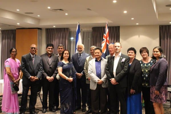 Indian Community - Members of Indian Community attend ZFNZ Cocktail Party
