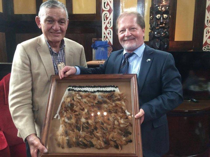 Ambassador meets Maori King