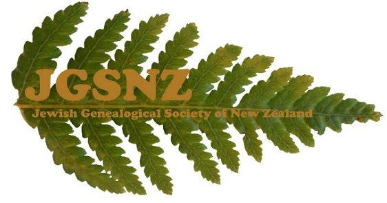 Jewish Genealogical Society of New Zealand