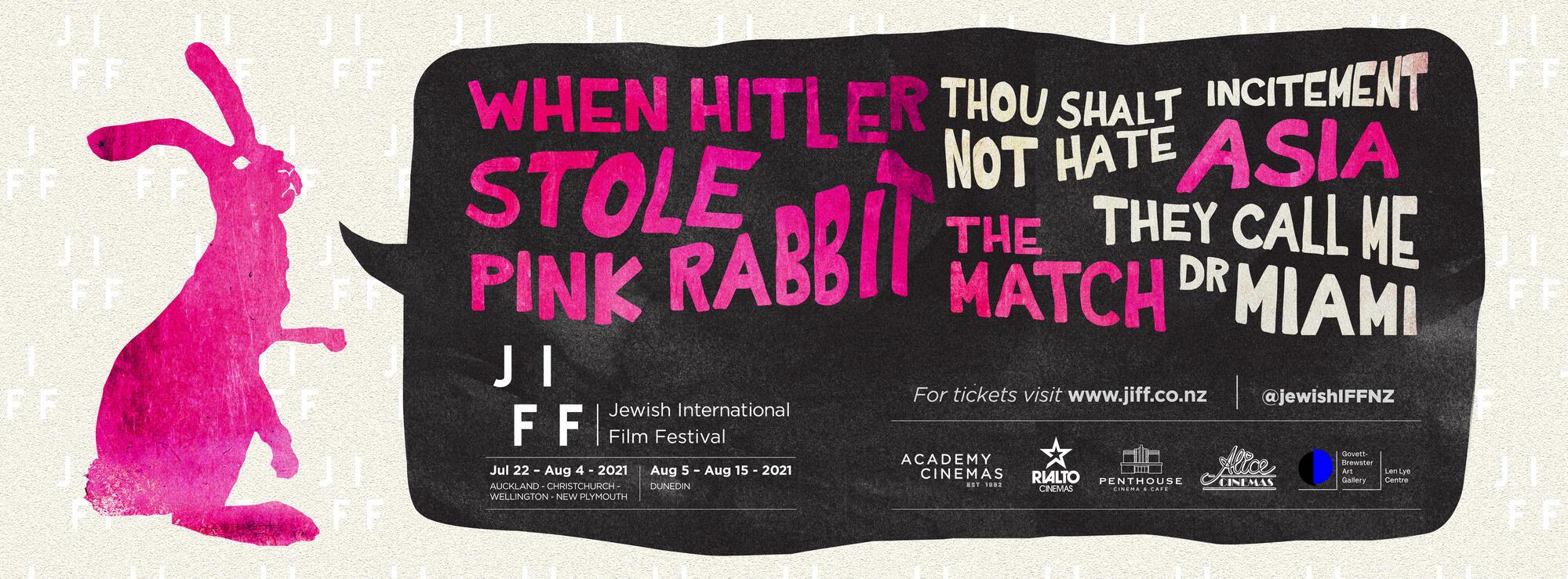 JIFF - NZ Jewish International Film Festival