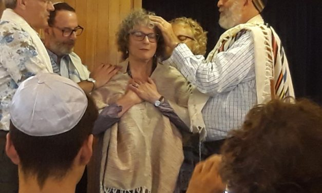 Huge Support for Ordination of Rabbi JoEllen Duckor