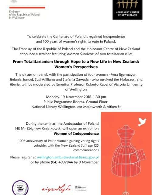 From totalitarianism through hope to a new life in New Zealand: women's perspectives