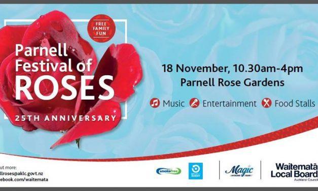 JYF SPRING EVENT – Parnell Festival of Roses