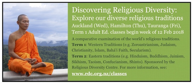 Religious Diversity Centre offers class on the Abrahamic faith traditions