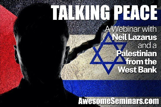 Talking Peace - Israel current affairs webinars for New Zealand