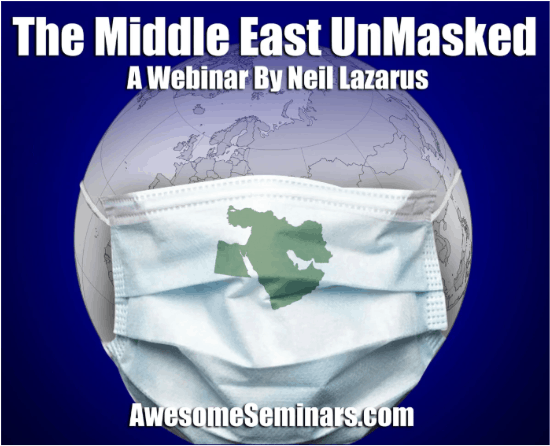 The Middle East Unmasked - Israel current affairs webinars for New Zealand