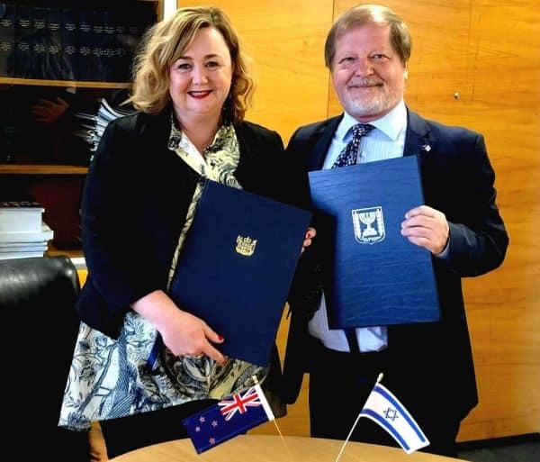 Israel & NZ Sign Historic Agreement