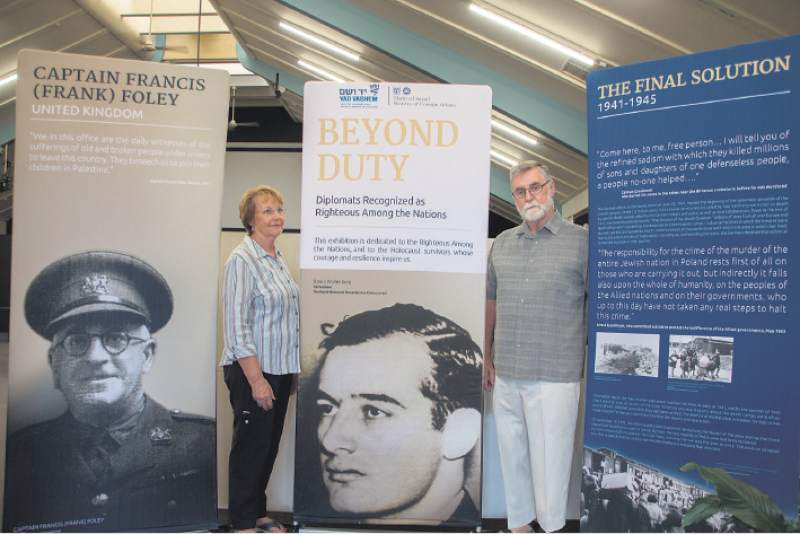 Honouring those who risked their lives to save Jews