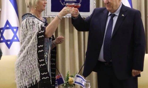New NZ Ambassador to Israel presents credentials