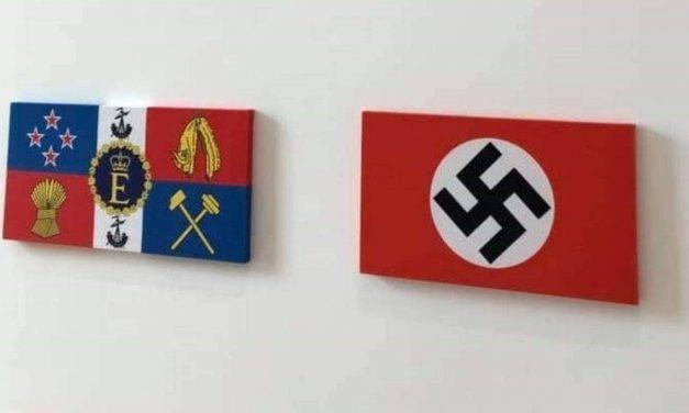 Jewish Council criticises gallery's swastika display