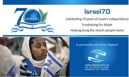 Fundraising for Aliyah – Showcase Dinner Event