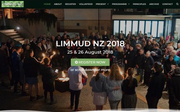 LIMMUD NZ launch new website