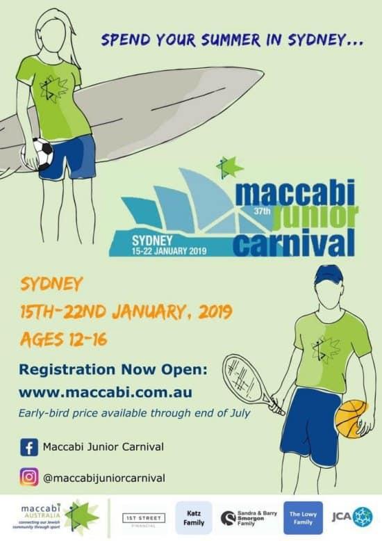 maccabi - Maccabi Junior Carnival, Sydney, Jan 2019