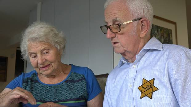 Holocaust survivors speak of horrors