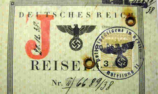 Passports show Jewish past