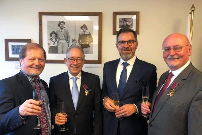 Gold Cross Of Merit For Strengthening Polish – Jewish Ties In New Zealand