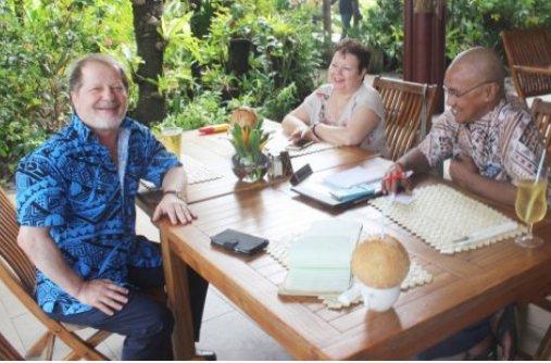 Israeli Ambassador visits Samoa